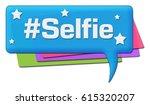 selfie colorful comments... | Shutterstock . vector #615320207