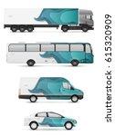 design branding vehicles for... | Shutterstock .eps vector #615320909