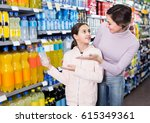young woman with daughter... | Shutterstock . vector #615349361