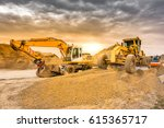 land movement in the... | Shutterstock . vector #615365717