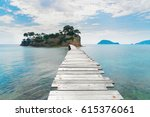 agios sostis island  beautiful... | Shutterstock . vector #615376061