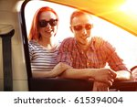 young people buy a new car    Shutterstock . vector #615394004