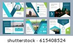 brochure template. book cover... | Shutterstock .eps vector #615408524