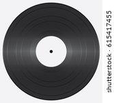 vinyl record. vector... | Shutterstock .eps vector #615417455