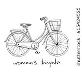 Vintage Women S Bike With...