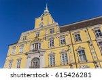 facade of the castle of... | Shutterstock . vector #615426281