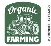 farm house concept logo.... | Shutterstock .eps vector #615432509