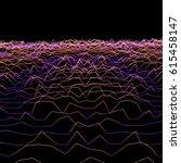 vector glitch parametric...   Shutterstock .eps vector #615458147