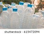 recycled waste bottles | Shutterstock . vector #615472094