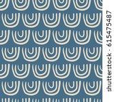 seamless pattern  japanese art  ... | Shutterstock .eps vector #615475487