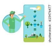 save our planet infographics.... | Shutterstock .eps vector #615476477