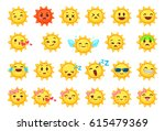 collection of difference... | Shutterstock .eps vector #615479369