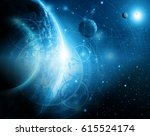 best internet concept of global ... | Shutterstock . vector #615524174