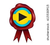 bahamas wax seal   Shutterstock .eps vector #615530915