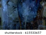 colorful blue abstract...   Shutterstock . vector #615533657