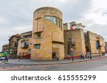 Small photo of Edinburgh, Scotland - September 09, 2016: National Museum of Scotland with unidentified people. In 2016 the museum had 1.81 mio visitors the year, making it Scotland's most popular visitor attraction