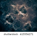 mystic enigmatic abstract... | Shutterstock . vector #615556271