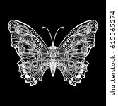 butterfly  decorative element...   Shutterstock .eps vector #615565274