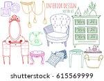 creative colored furniture...