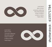 infinity sign vector icon | Shutterstock .eps vector #615571784