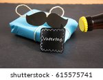 symbol photo for father  s day | Shutterstock . vector #615575741