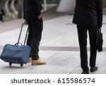 blurry of business people with... | Shutterstock . vector #615586574