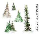 Pine Trees Or Christmas Trees...