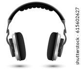 black and white studio... | Shutterstock .eps vector #615602627