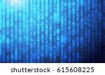 blue light sparkling glitter...   Shutterstock .eps vector #615608225