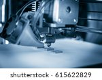electronic three dimensional... | Shutterstock . vector #615622829