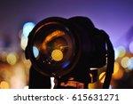 digital camera the night view... | Shutterstock . vector #615631271
