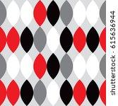 mid century modern 1950s style... | Shutterstock .eps vector #615636944