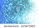 blue pixel background. | Shutterstock .eps vector #615672305