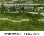 3d rendering and design ... | Shutterstock . vector #615676079
