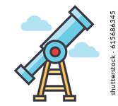 market vision icon symbol ... | Shutterstock .eps vector #615686345