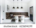 open plan living   a modern... | Shutterstock . vector #615694199