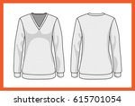 vector model design template... | Shutterstock .eps vector #615701054
