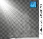 vector floodlights. scene.... | Shutterstock .eps vector #615703709