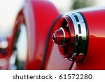 classic red vintage car | Shutterstock . vector #61572280