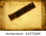 Film Tape Attached To The Pape...