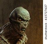 alien x 3d illustration | Shutterstock . vector #615727637