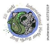 international mother earth day... | Shutterstock .eps vector #615731519