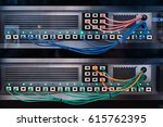 network switch and ethernet... | Shutterstock . vector #615762395