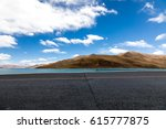 road and lake  automotive... | Shutterstock . vector #615777875