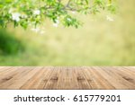 old wood coordination table top ... | Shutterstock . vector #615779201