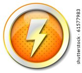 electricity icon | Shutterstock . vector #61577983