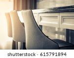 dining chair with stone top...   Shutterstock . vector #615791894