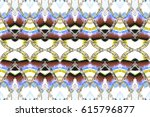 melting colorful symmetrical... | Shutterstock . vector #615796877