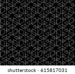 abstract geometric pattern with ... | Shutterstock .eps vector #615817031