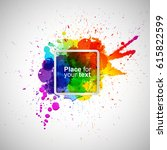 abstract background with... | Shutterstock .eps vector #615822599